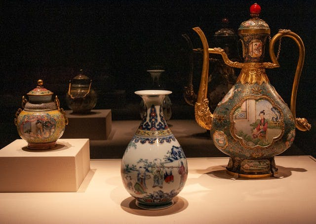 China's Forbidden City Vase