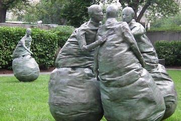 sculpture in Hirshorn Sculpture Garden