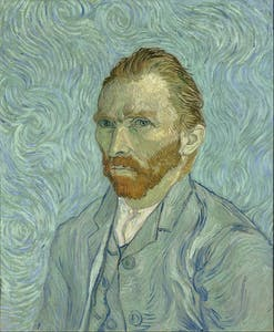 self portrait vincent van gogh 1889