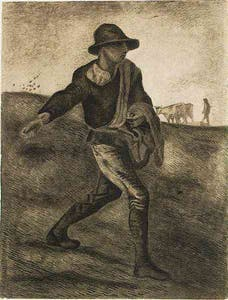 The Sower Vincent van Gogh 1881