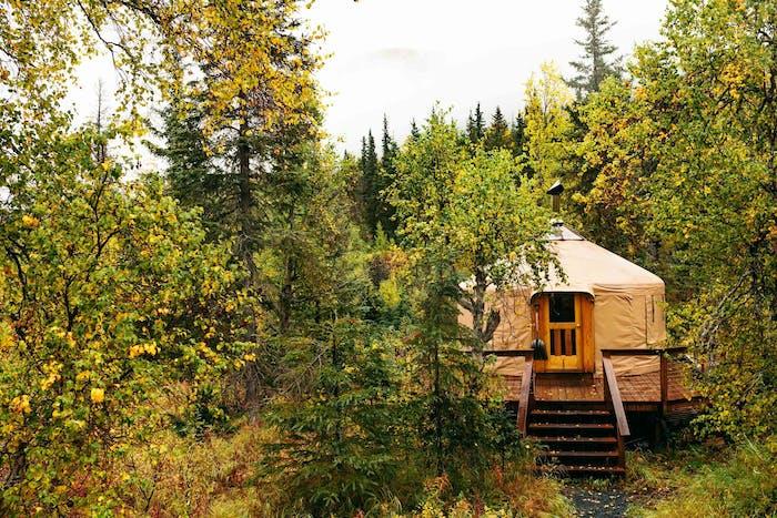 Hut Rentals   Alaska Huts Association