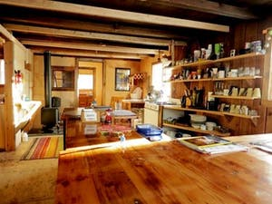 Manitoba Cabin interior
