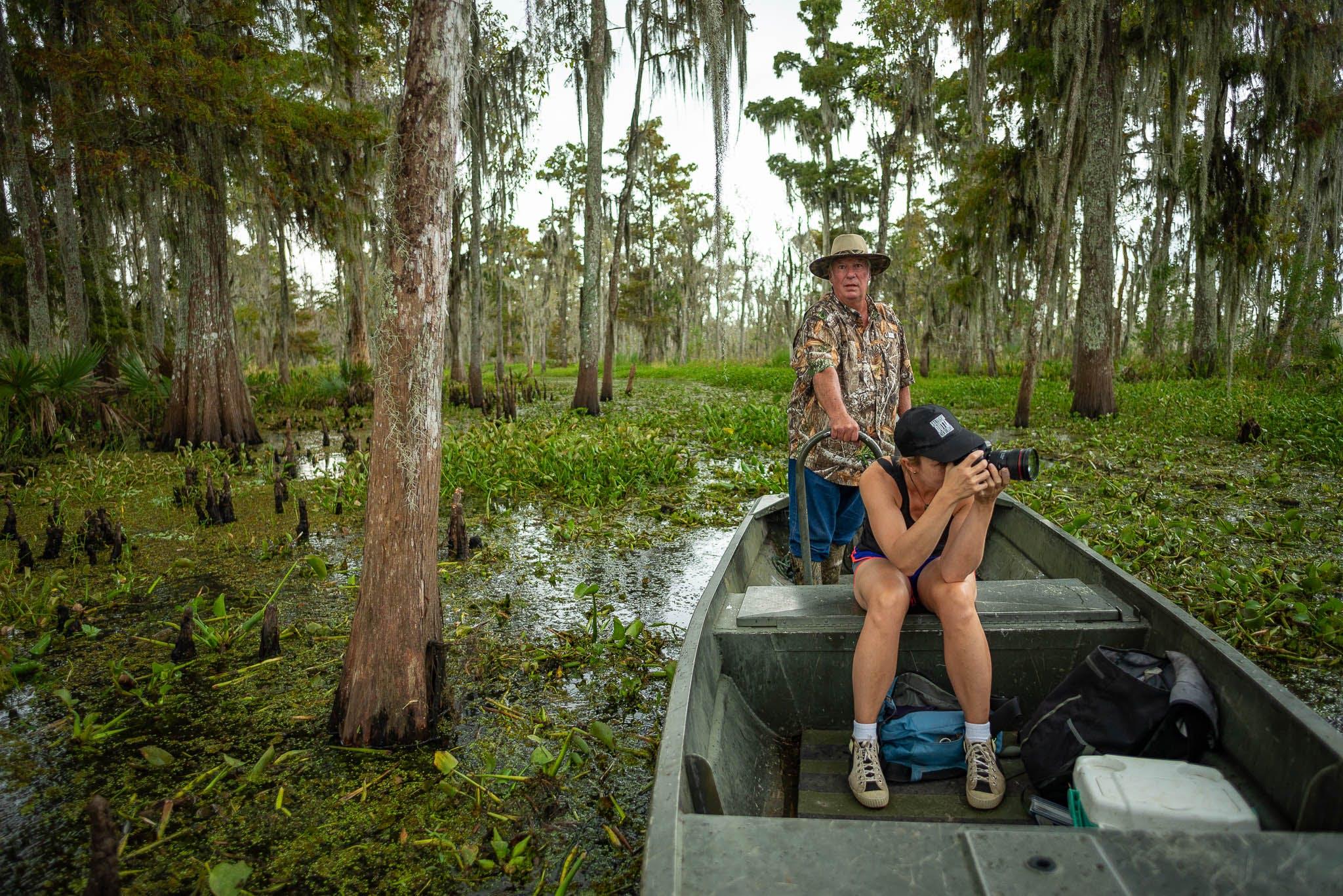 photo swamp tour, swamp landscape photography tour, swamp photography