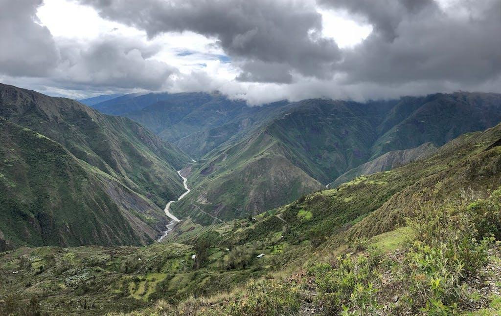 The Mapacho Valley in Cusco, Peru