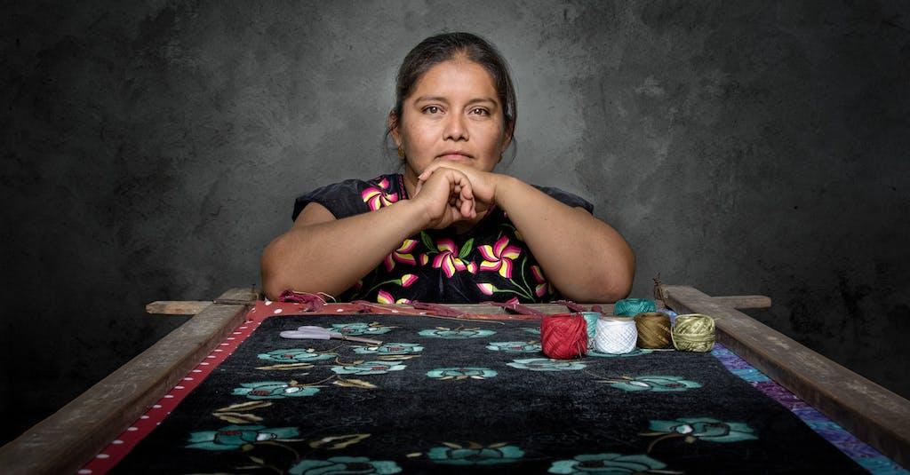 Artisan San Blas Atempa, Oaxaca, Mexico