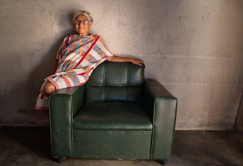 artisan from Xochistlahuaca, Guerrero, Oaxaca.