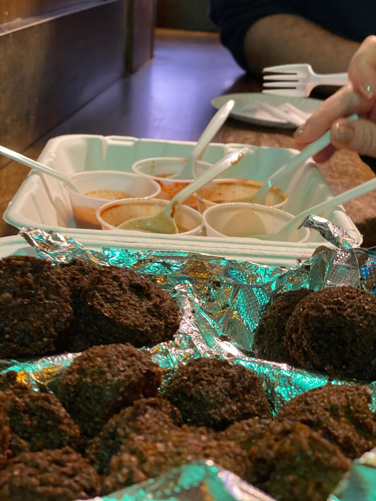 Falafel in NYC