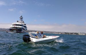 san diego speed boat tour group