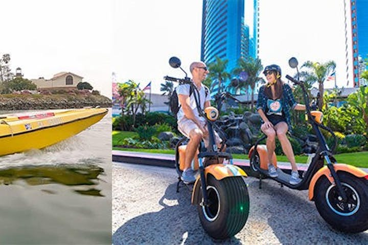 Scooter and Harbor Tour