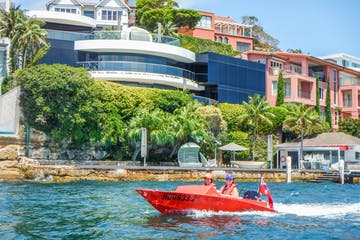 Sydney speed boat tour