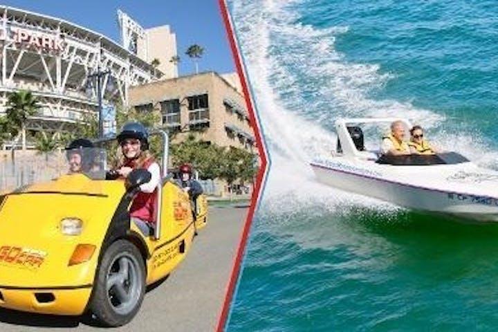 GoCar Speed Boat Combo