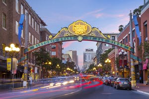 Some fun date ideas in San Diego include exploring Gaslamp Quarter