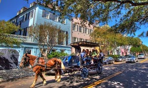 A carriage ride is a great idea for your next charleston SC weekend getaway