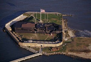 Visit Fort Sumter on your next Charleston SC weekend getaway