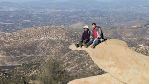 San Diego Bucket List: Visit Potato Chip Rock Hike