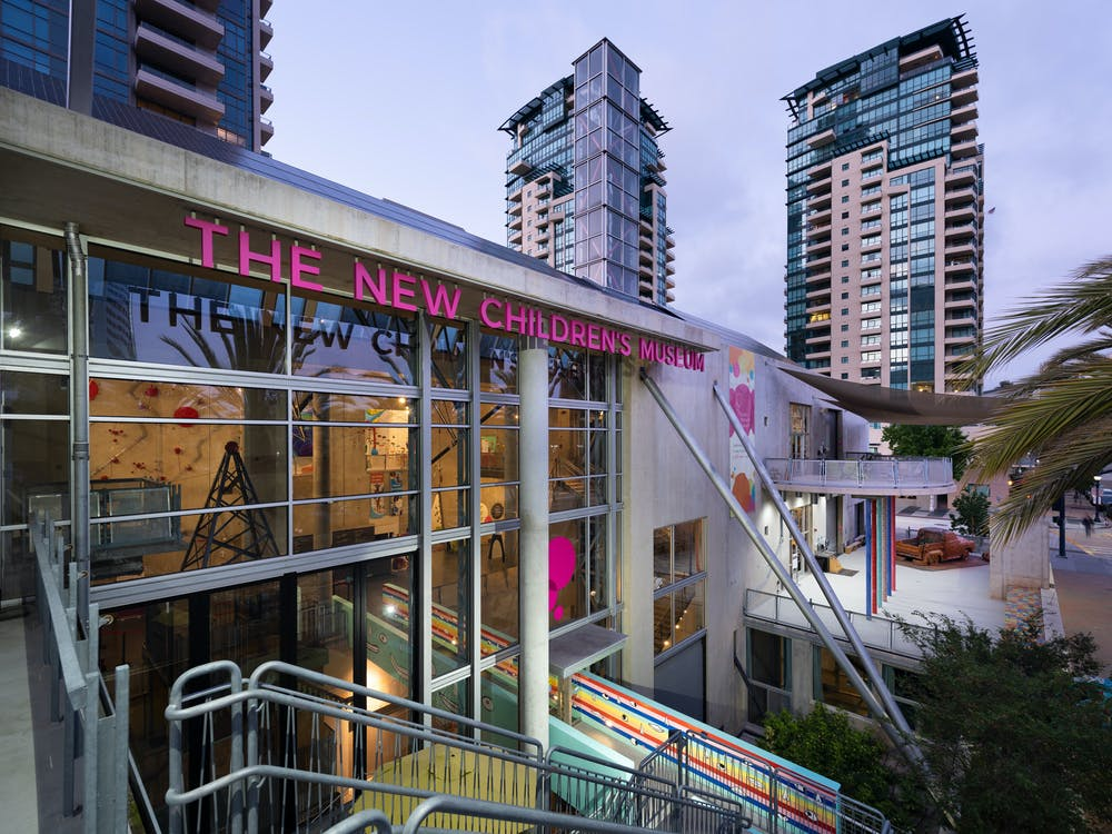 the children's museum is one of the top san diego attractions for kids