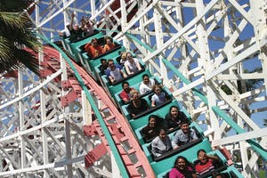 Belmont Park is one of the top san diego attractions for kids