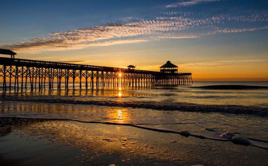 Folley Beach SC Sunset