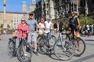 downtown - munich bike tour