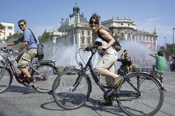 Munich bicycle tour in spanish
