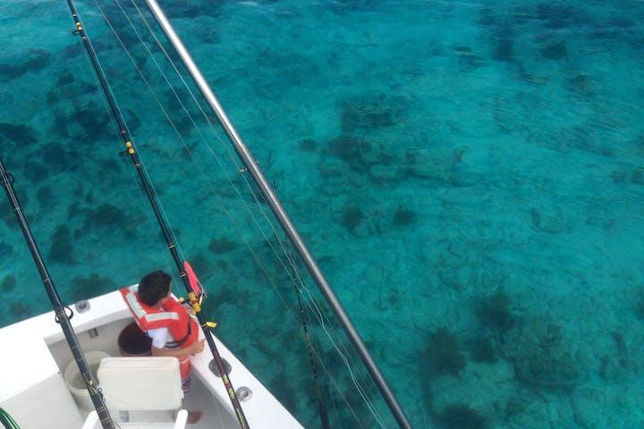 crystal blue waters in key west