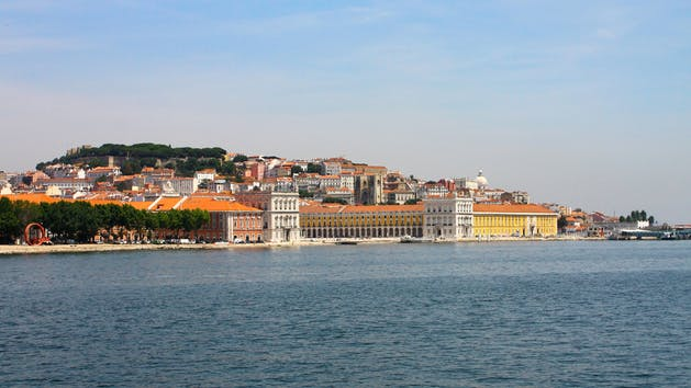 Views of Lisbon from the Tagus