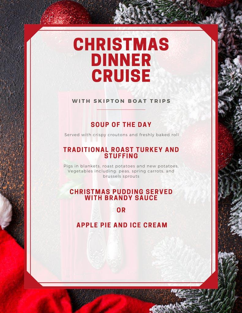Christmas Dinner Cruise Flyer