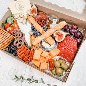 Charcuterie cuts or Vegetarian nibbles