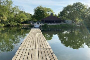 Spruce Run Reservoir rental dock