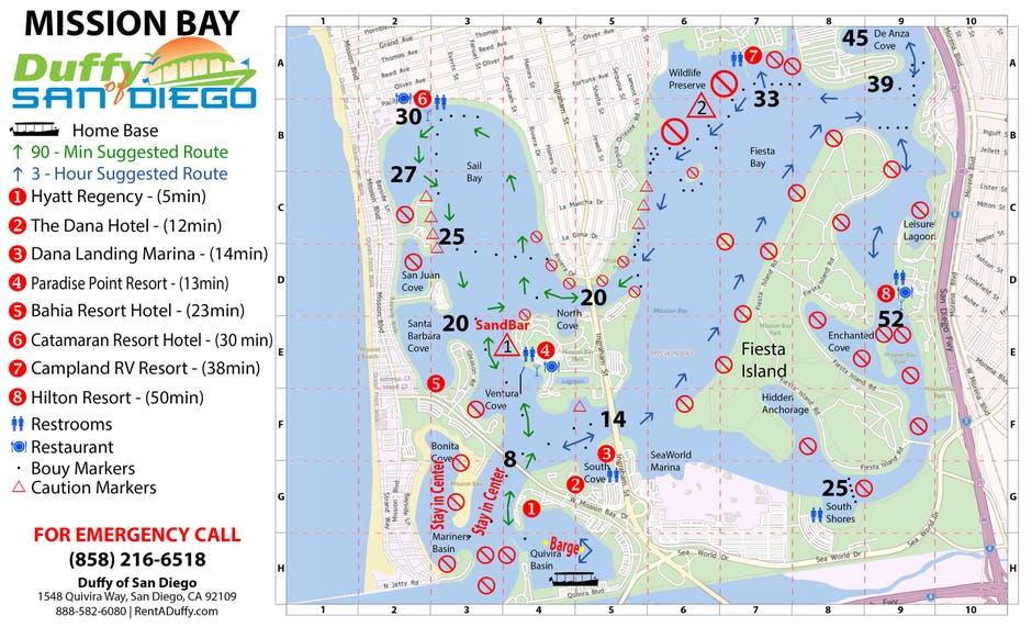 Duffy-Boat-Map