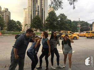scavenger hunts are good team building activities in NYC