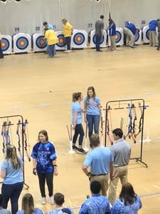 archery for la team building activity