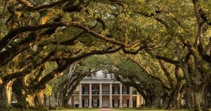 Take a tour of one of the plantation homes in New Orleans