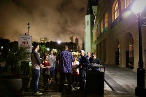 Go out for a tour of New Orleans at night to add a scare factor