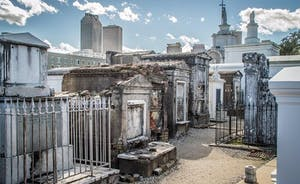 A famous New Orleans Cemetery tops the lists of most tours