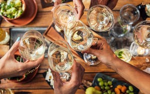 Bring your team together over a shared meal complete with wine pairings