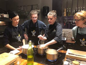 Build your team's cooking skills with private lessons