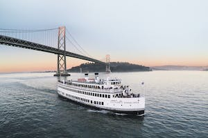 Set sail on a boat around the SF harbor