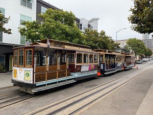 The SF cable cars are world renowned