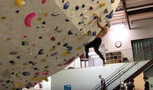 indoor rock climbing gyms