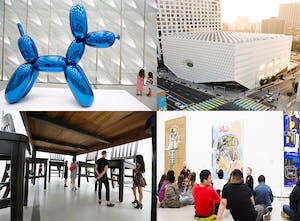 The Broad Museum showcases world famous pieces of art