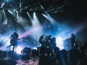 A live concert event