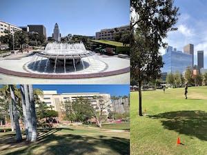 Grand Park in Downtown LA