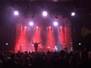 A concert at Regent Theater