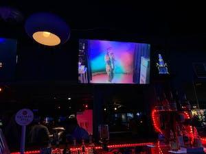 a karoake bar