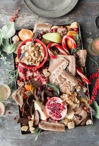 Holiday food and snacks