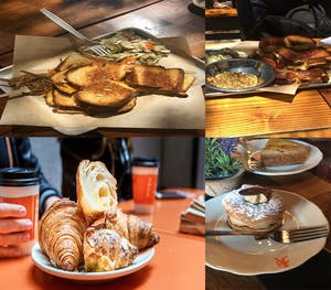 A compilation of food pictures from LA
