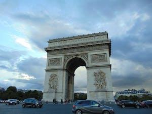 the Champs de Elysse