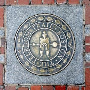 The Freedom Trail Boston Plaque