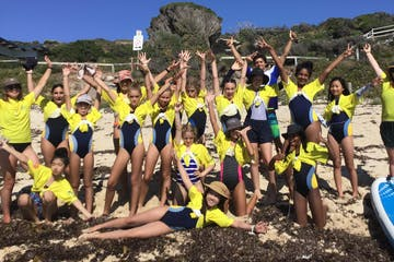 sup lessons group in margaret river